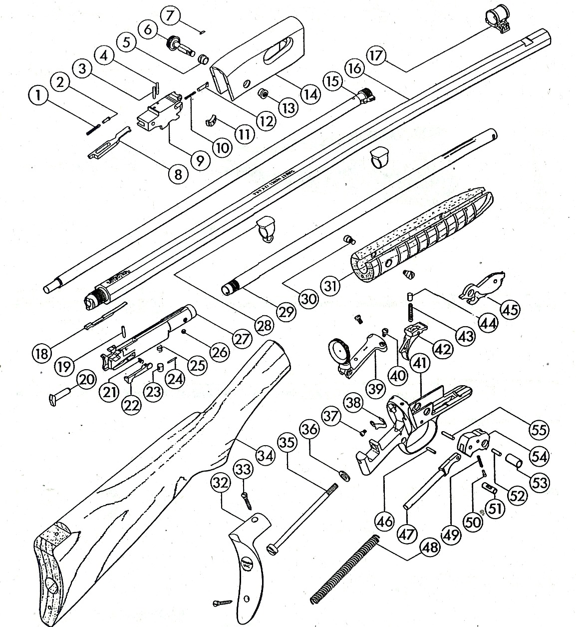Remington 12 exploded views pooptronica